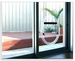 cat door for sliding glass door sliding door cat door interior pet door dog door in