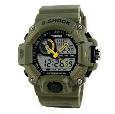men s military camo s shock watch my instant deal
