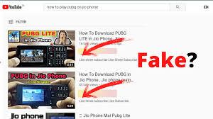 PUBG game download in Jio phone ...