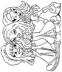 Small Picture Bratz Coloring Pages 6 Coloring Kids
