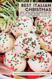 99 christmas cookie recipes to fire up the festive spirit. Best Italian Christmas Cookies Walking On Sunshine Recipes