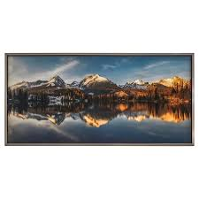 Check out our great posters, wall decals, photo prints, & wood wall art. Yosemite Home Decor Landscapes Frameless 30 In H X 60 In W Landscape Canvas Print In The Wall Art Department At Lowes Com