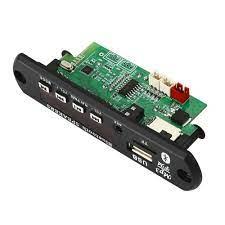 Bộ khuếch đại 2 * 25W Bảng giải mã Máy nghe nhạc MP3 MP5 12V Bluetooth 5.0  50W Mô-đun Đài FM trên ô tô Hỗ trợ TF USB AUX