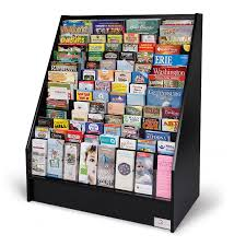 Free Standing Literature Display Custom Floor Standing Literature Rack Advanced Literature DisplayGreat