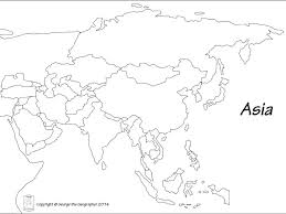 Blank map of asia countries major tourist attractions maps rh soileiragusgonta blank map blank map