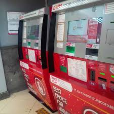 How To Use A Vending Machine Best How To Use CommuterLine Ticket Vending Machine Jakarta By Train