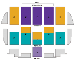 Rabobank Arena Seating Chart With Seat Numbers Rabobank Theater Seating Chart