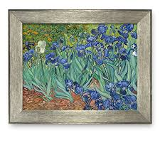 wall26 irises by vincent van gogh framed art print famous painting wall decor on famous wall art prints with irises by vincent van gogh framed art print famous painting wall