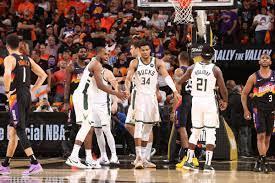 Final Score: Bucks win 123-119, take 3-2 lead in Finals - Bright Side Of  The Sun