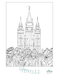 Small Picture Enjoy this Beautiful Free Temple Coloring Page Mormon Hub