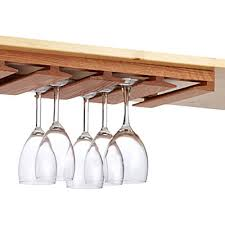 Under Cabinet Stemware Rack Fresh In Popular Oak Undercabinet The Container  Store Wine Glass