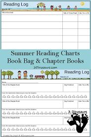 Summer Book Reading Chart Free Weekly Summer Reading Charts 2015