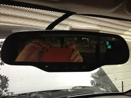 how to rearview mirror upgrade chevrolet colorado gmc canyon gentex mirror wiring diagram if you are not getting a good connection to the sensor or the wires are backward the mirror will display oc open circuit