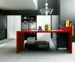 White Color Theme Picture Modern Island Kitchen Designs 2013 Of Modern Kitchen Cabinets Design 2013