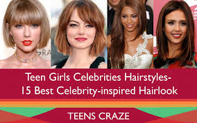 Best teen celebrity hair styles