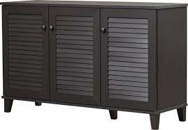 Rebrilliant 25 Pair Shoe Storage Cabinet Reviews Wayfair