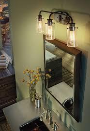 above mirror bathroom lighting. Three Light Bathroom Fixture Lighting Vanity Braelyn Olde Bronze Above Mirror