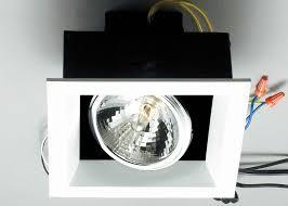 Easy Recessed Lighting Square Recessed Lighting Kit 4 Inch Square Retrofit Led Recessed