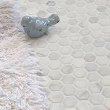 bathroom floor tile hexagon. Oriental Marble Mosaics Tiles Bathroom Floor Tile Hexagon