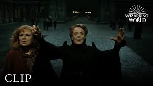 Professor McGonagall Protects Hogwarts | <b>Harry Potter</b> and the ...