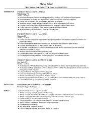 Resume Purchasing Indirect Purchasing Resume Samples Velvet Jobs