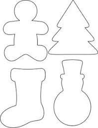 Christmas Ornament Patterns Amazing Елочные игрушки из фетра своими руками выкройки схемы шаблоны