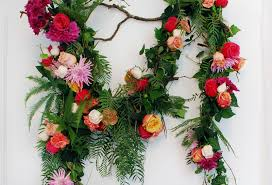 Flower Decoration Design Tutorial How To Make A Fresh Flower Garland We Are Scout 93