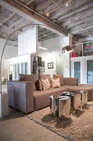 livingroom lighting. (Image Credit: Ashley\u0027s Soft Industrial Artist Loft) Livingroom Lighting