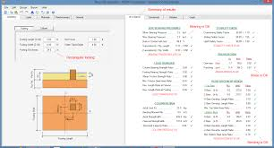 Steel Column Foundation Design Foundation Design Software Spread Combined And Strap Footings
