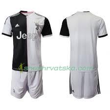Nogometni Domaći Dječji 2019-2020 Kratkih Dresovi Rukava Juventus