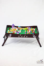 diy lego tray play station homemade gift for lego