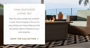 Furniture in style Wwwinterwood Take The Party Outside And Entertain In Style The Style Flamingos Outdoor Furniture Patio Balcony More City Furniture