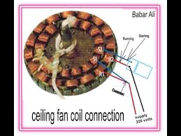 how to connection of ceiling fan in
