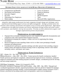 design5000604 hr resume examples hr resume example sample sample resume human resources