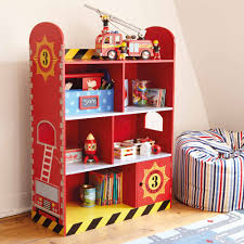 Bookcase Bedroom Furniture Fire Engine Bookcase Our Fire Engine Toddler Bedroom Create