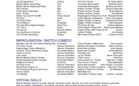 Best Movie Theater Resume Examples Pictures Inspiration Resume