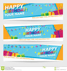 Happy Birthday Signs To Print Print Editable Happy Birthday Banners Geometric Landscape