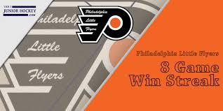 flyers philly the philadelphia little flyers premier with 8 game win streak tier