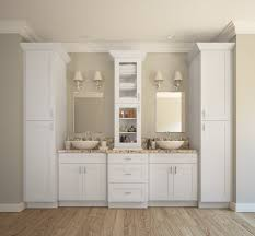 stylish modular wooden bathroom vanity. Perfect Vanity Aspen White Shaker RTA Kitchen Cabinets Inside Stylish Modular Wooden Bathroom Vanity