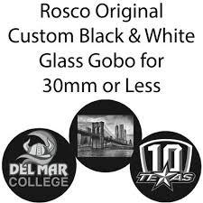 Rosco Custom Glass Gobos