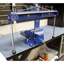 Wilton Pipe And Bench Vise U2014 6in Jaw Width Swivel Base Model C Bench Vise 6