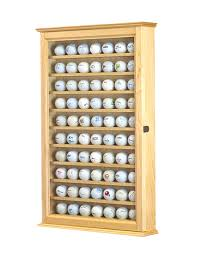 70 golf ball cabinet maple