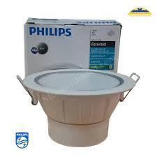 Đèn led âm trần 59371 5W Philips thiết kế nhỏ gọn viền vàng sang trọng – Đèn  sạc khẩn cấp | Phân phối đèn khẩn cấp Paragon