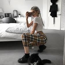 Goodbye Bread Size Chart Ashley Trousers Ltt Dolls Kill Omighty Unif Pants Nwt