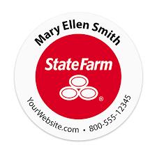State Farm Insurance Agency Sticker | Mines Press