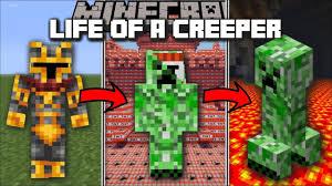 Minecraft LIFE OF A CREEPER MOD / FIGHT ...