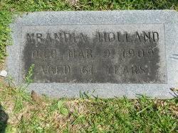 Mrandia Holland (1848-1909) - Find A Grave Memorial