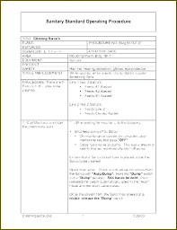 Work Instruction Template Visual Work Instruction Template