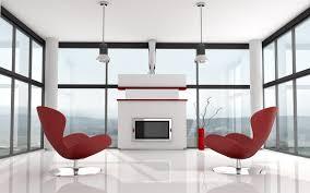 futuristic living room