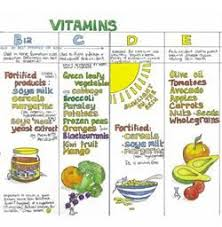 Lovely Hand Drawn Vegan Nutrition Wall Chart I Used To Have